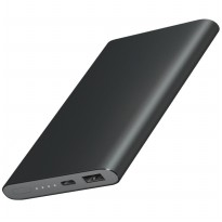 Xiaomi Power Bank Super Thin Portable USB Type C 10000mAh (OEM) - Gray