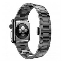 Hoco Slimfit Style Stainless Steel Band for Apple Watch 42mm Series 1 & 2 - Black
