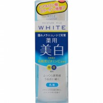 Kose Moisture Mild White Milky Lotion 140 mL Original Japan Whitening