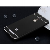 Aluminium Bumper with PC Back Cover for Xiaomi Redmi Note 3 / Note 3 Pro (KENZO) - Black