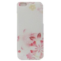 Flower Plastic Case for iPhone 6 - PS16 - White