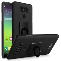 Imak Contracted iRing Hard Case for LG G6 - Black