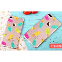 Casing Softcase Motif Popsicles iPhone 6s - Transparent