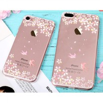 Casing Softcase Motif Swallow iPhone 6s - Transparent