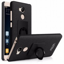 Imak Contracted iRing Hard Case for Xiaomi Redmi 4 Pro - Black