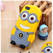Minion Despicable Me TPU Case for iPhone 4 & 4S - Gray