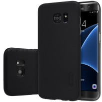 Nillkin Super Frosted Shield Hard Case for Samsung Galaxy S7 Edge - Black