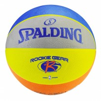 Bola Basket Anak SPALDING ROOKIE GEAR SIZE 5 RUBBER
