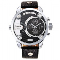 NORTH Jam Tangan Analog - DZ7257 - Black