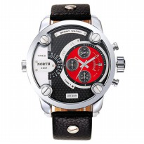 NORTH Jam Tangan Analog - DZ7257 - Red