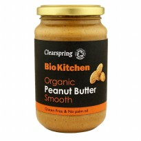 Clearspring Bio Kitchen Organic Smooth Peanut Butter 350g