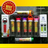Tritan Water Bottle With Fruit Infuser ( Botol Air Minum Buah Infuse )