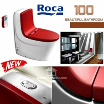 Roca In Wash Khroma Toilet Premium Leather seat cover ex spanyol