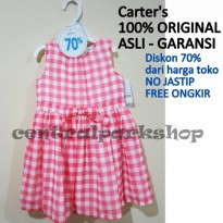Carter's Dress Me Up Pretty Red Checked