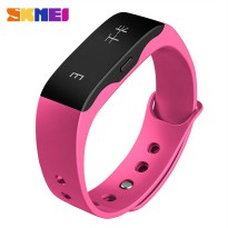 SKMEI Jam Tangan OLED Gelang Smartwatch Fitness Notification - L28T - Pink