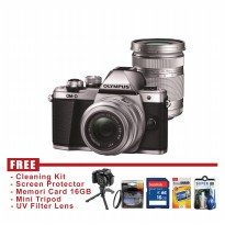 Olympus OM-D EM10 Mark II Kit 14-42mm + 40-150mm - FREE Accessories