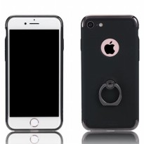 Remax Lock Series Case with iRing for iPhone 7 Plus - Black