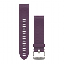 Garmin QuickFit™ 20 Watch Band, Amethyst Purple Silicone