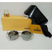Kacamata Fendi RT8255 Silver Sunglass Wanita Fashion