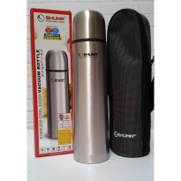 Perlengkapan Rumah SHUMA TERMOS VACUUM FLASK 1 LTR STAINLESS HOT AND COLD PROMO