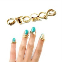 New!!Seven Rings Fashionable Punk Cool