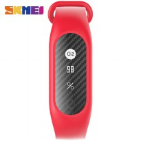 SKMEI Jam Tangan LED Gelang Fitness Tracker - B15S-C - Red