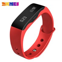 SKMEI Jam Tangan OLED Gelang Smartwatch Fitness Notification - L28T - Red