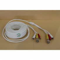 Kabel CCTV Video+ Audio+Power, 30 Meter ( BNC / RCA )