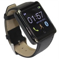 U10 Smartwatch for iOS and Android - Black