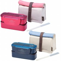Lock&Lock - slim lunch box with bag