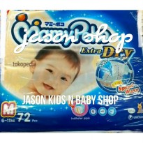 Pampers bayi/Diapers Mamy Poko Tape extra dry (perekat) M72/L62