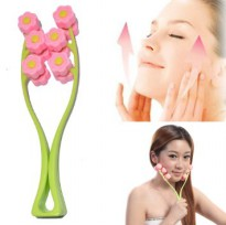 ALAT PIJAT WAJAH / FLOWER FACE UP ROLLER