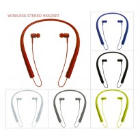 Wireless Stereo Headset / Handsfree Bluetooth MS-750A - Biru