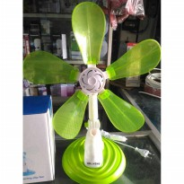 Kipas Angin 3In1 Luby Wh-6302 Clip Fan Desk Fan Baling