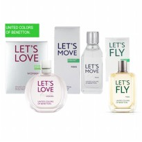 BENETTON LET'S SERIES FOR WOMAN AND MAN (100ML) ORIGINAL