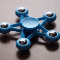 Promo! SPINNER STAR BLUE