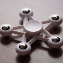 Promo! SPINNER STAR WHITE