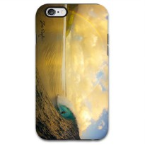 Sea Wave TPU Case for iPhone 6 - Yellow