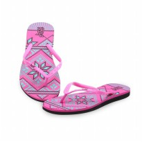 HDF sandal | GENEVA [PINK/LIGHT BLUE]