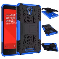 TPU + PC Anti Knock Hard Armor Style Protector Case Cover For Xiaomi Redmi Note 2 - Blue