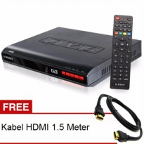Ichiko DV 8000HD Set Top Box DVB T2 Tv Digital Receiver KabelHDMI