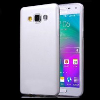 Ultra Thin TPU Case for Samsung Galaxy J1 2015 - Transparent