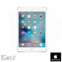 iPad Mini 4 128GB Wifi + Cellular Gold ( Garansi 1 Tahun )