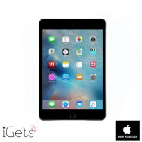 iPad Mini 4 128GB Wifi + Cellular Space Grey ( Garansi 1 Tahun )
