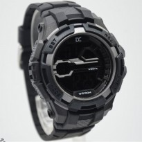 Promo! JAM TANGAN PRIA DIGITEC COLLECTION DD 5007 ORI ANTI AIR BLACK SILVER