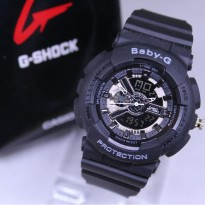 Promo! BABY G GA 110 ANTI AIR BLACK LIST GREY