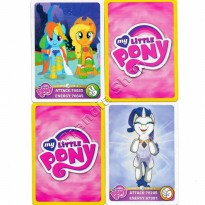 Kartu My Little Pony mainan Trading Card Game