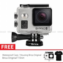 BRICA B-PRO 5 Alpha Edition Full HD 1080p Wifi Action Camera Free Brica T-Shirt