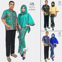 kebaya modern couple / kebaya pesta / batik couple