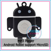 MP3 Player - Android Robot support MicroSD